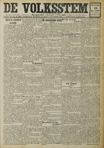 De Volksstem 1926-05-19
