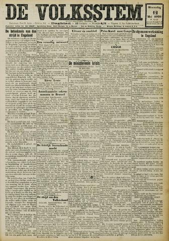 De Volksstem 1926-05-12