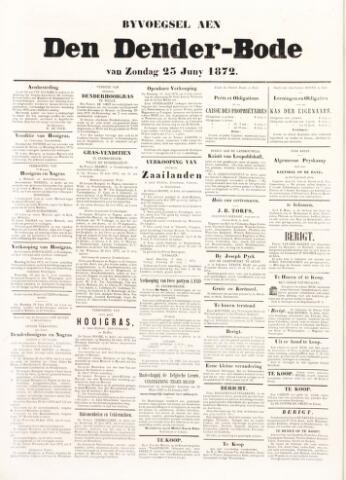 De Denderbode 1872-06-25