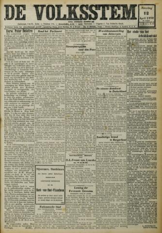 De Volksstem 1930-04-12