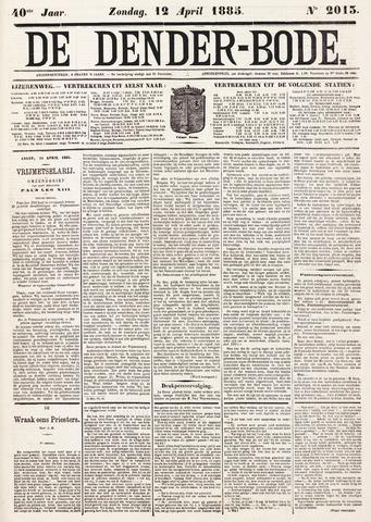 De Denderbode 1885-04-12