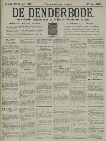 De Denderbode 1902-08-10