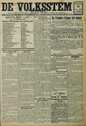 De Volksstem 1932-09-21
