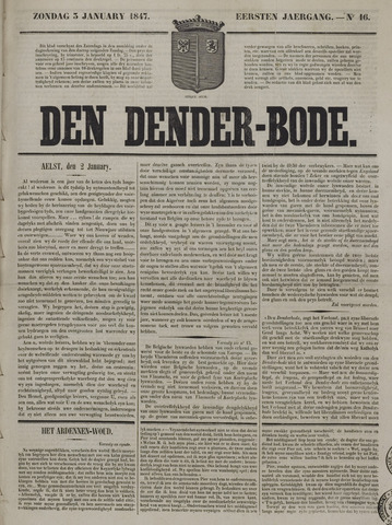 De Denderbode 1847