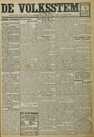 De Volksstem 1930-01-09