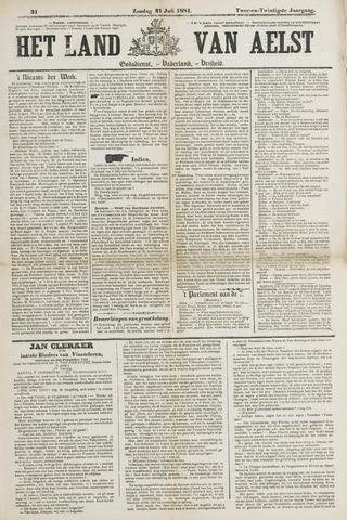 Het Land van Aelst 1881-07-31