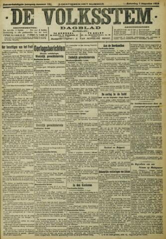 De Volksstem 1915-08-07