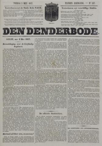 De Denderbode 1857-05-03