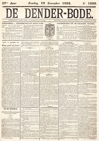 De Denderbode 1882-11-19