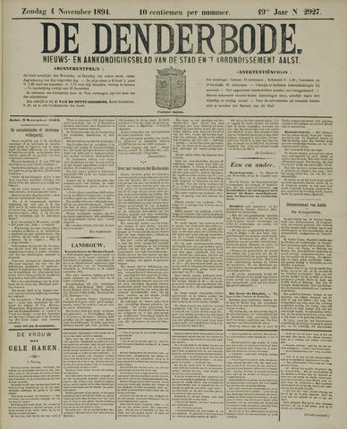De Denderbode 1894-11-04