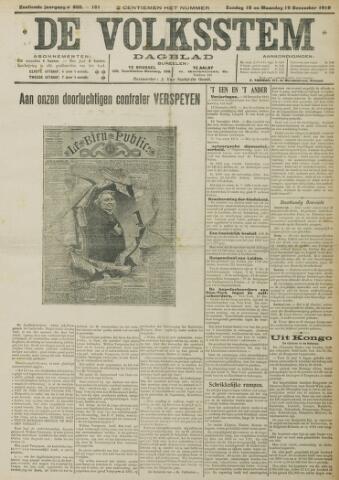 De Volksstem 1910-12-18