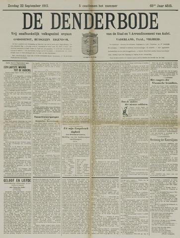 De Denderbode 1912-09-22