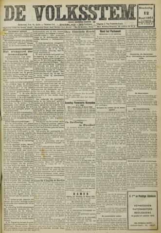 De Volksstem 1931-03-12