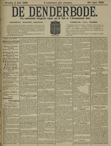 De Denderbode 1896-07-05