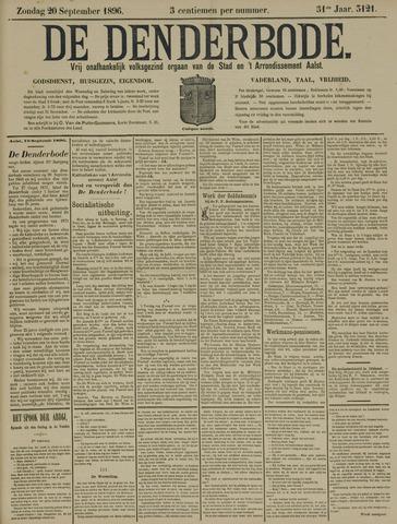 De Denderbode 1896-09-20