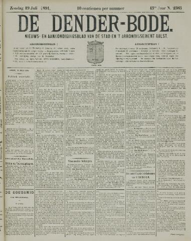 De Denderbode 1891-07-19