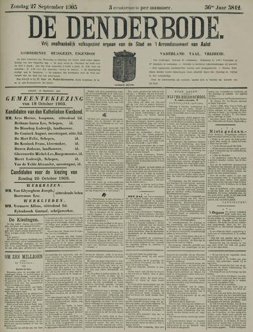 De Denderbode 1903-09-27
