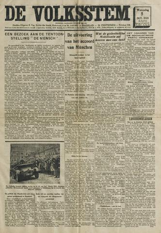 De Volksstem 1938-10-05