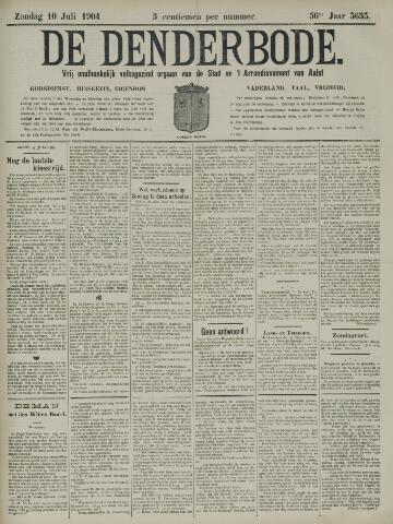De Denderbode 1904-07-10