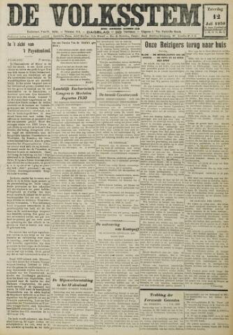 De Volksstem 1930-07-12