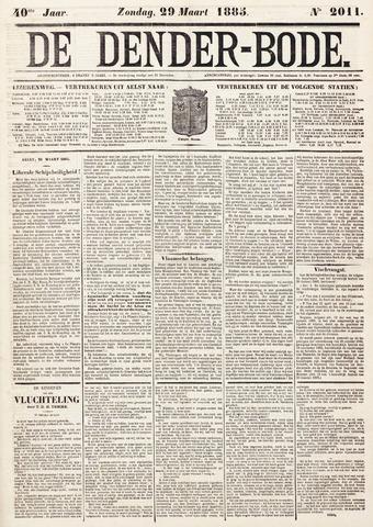 De Denderbode 1885-03-29
