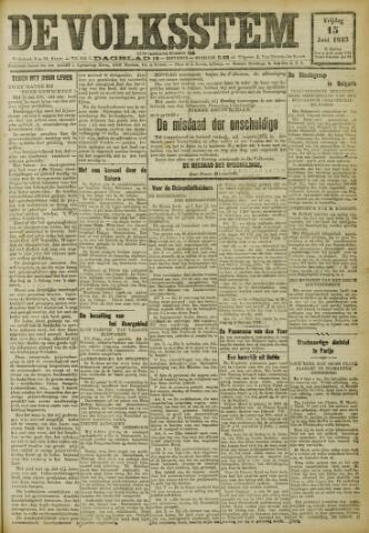 De Volksstem 1923-06-15