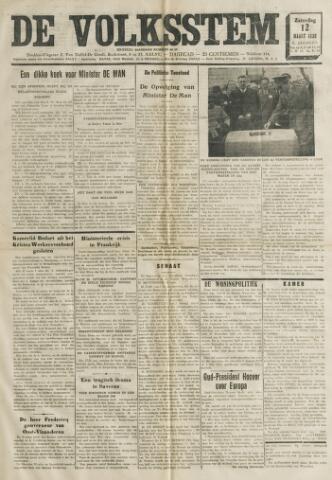 De Volksstem 1938-03-12