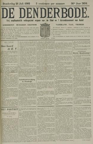 De Denderbode 1902-07-24