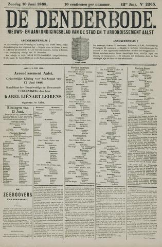 De Denderbode 1888-06-10