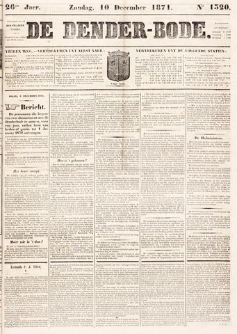 De Denderbode 1871-12-10