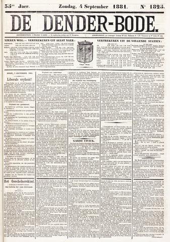 De Denderbode 1881-09-04