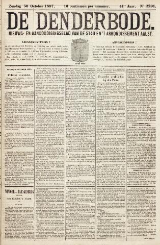 De Denderbode 1887-10-30