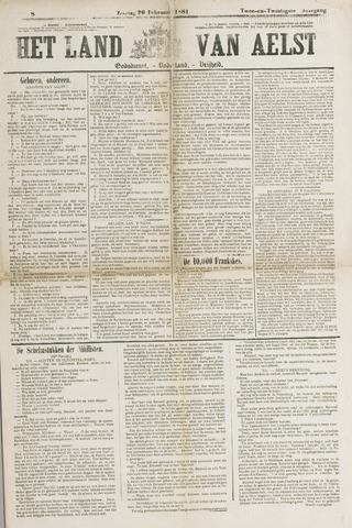 Het Land van Aelst 1881-02-20
