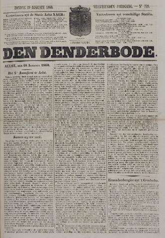 De Denderbode 1860-08-19