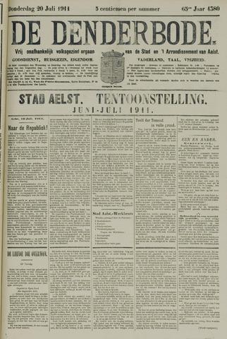 De Denderbode 1911-07-20
