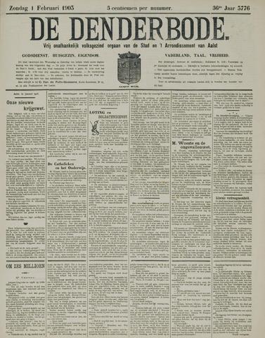 De Denderbode 1903-02-01