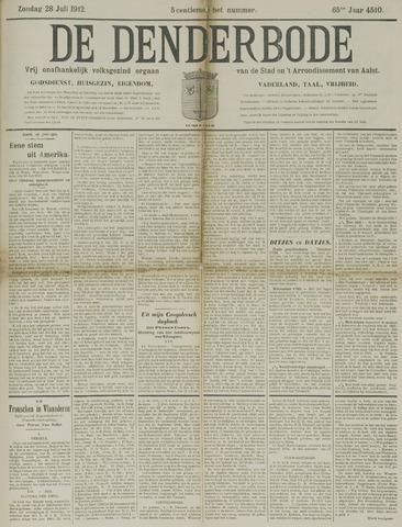 De Denderbode 1912-07-28