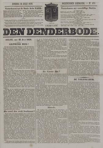 De Denderbode 1859-07-24