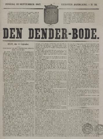 De Denderbode 1847-09-12
