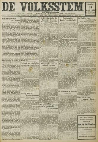 De Volksstem 1930-10-21