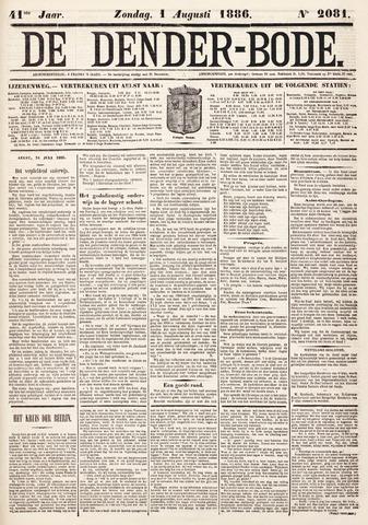 De Denderbode 1886-08-01