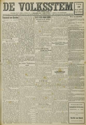 De Volksstem 1931-04-10