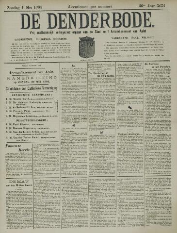 De Denderbode 1904-05-01