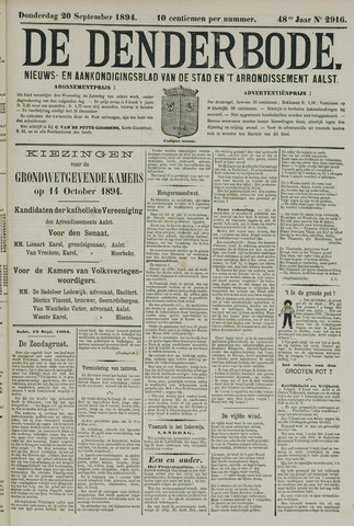 De Denderbode 1894-09-20