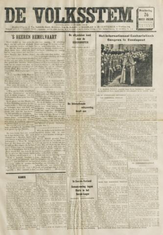 De Volksstem 1938-05-26