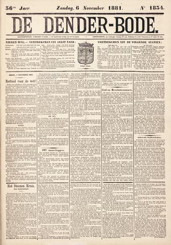De Denderbode 1881-11-06