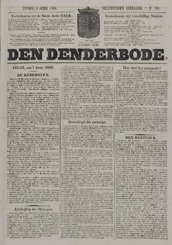 De Denderbode 1860-04-08