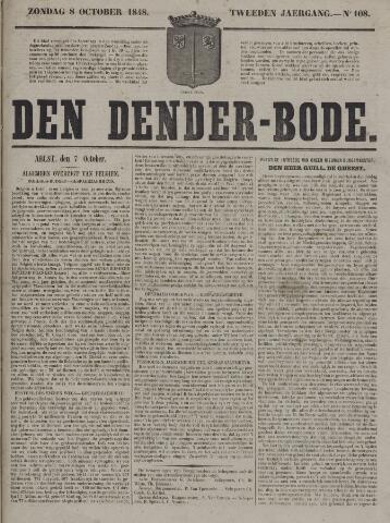 De Denderbode 1848-10-08