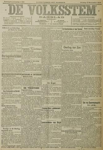 De Volksstem 1914-11-13