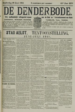 De Denderbode 1911-06-29